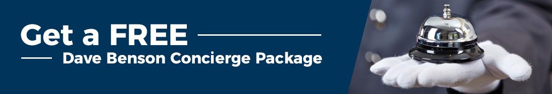 Dave Benson Excluse Universal Caravans Concierge Package
