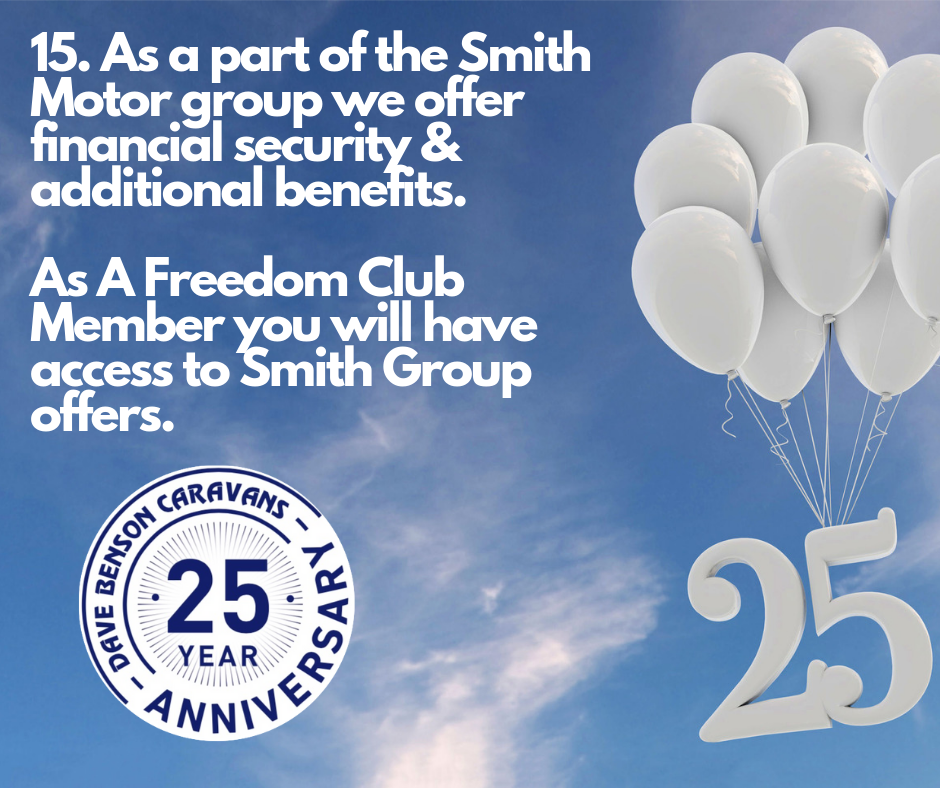 Smith Group & DBC Freedom Club Benefits