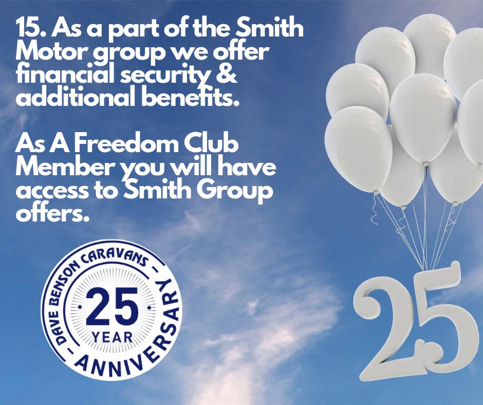 Smith Group & DBC Freedom Club Benefits
