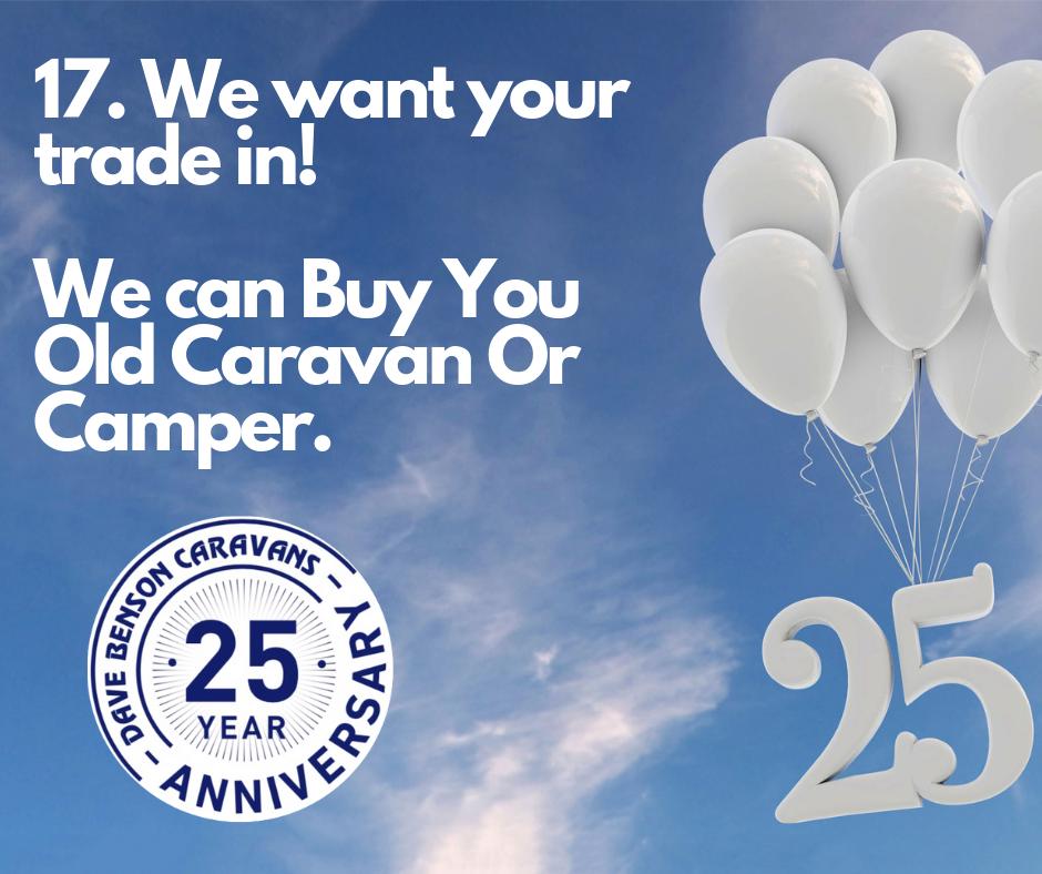 WE Buy Used Caravans & Campers