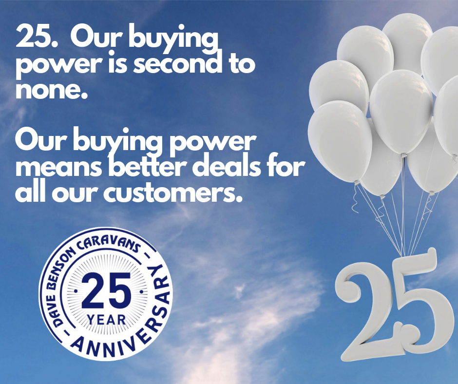 Our buying power means our customers get the best deals around