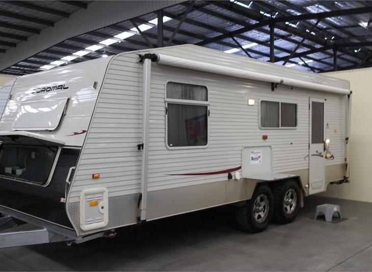 Coromal cross country caravan