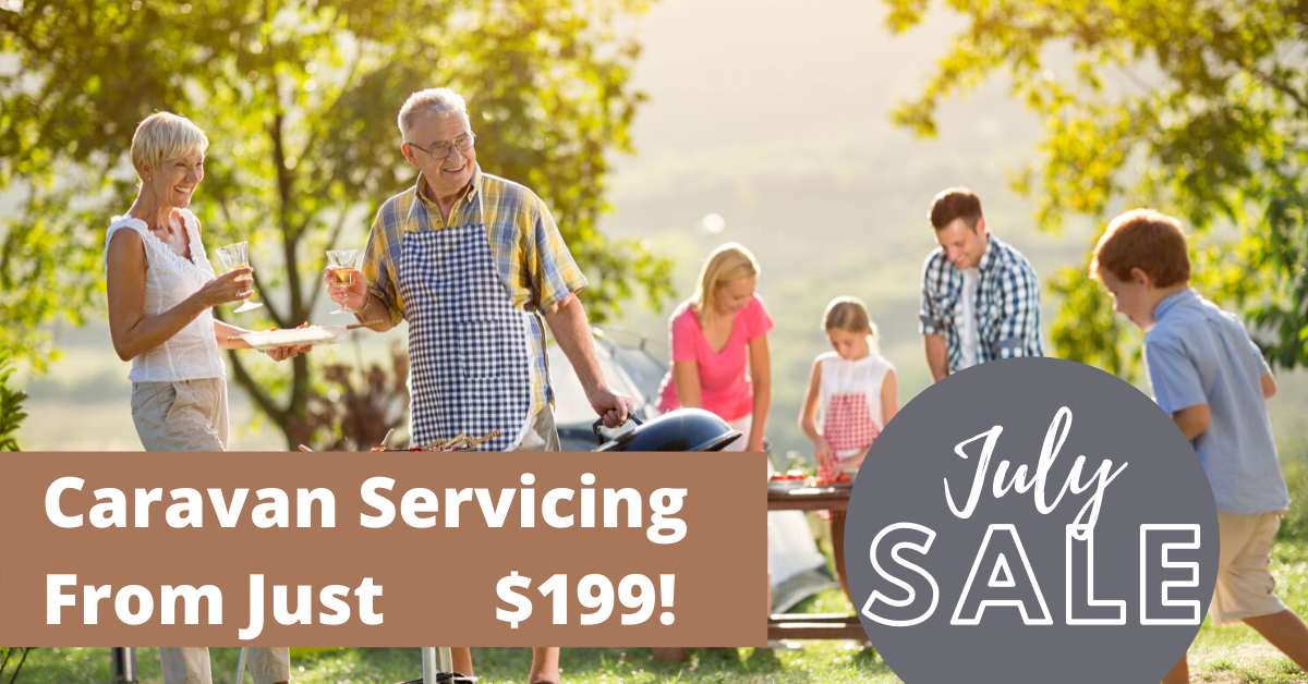 Caravan servicing deal from only $199