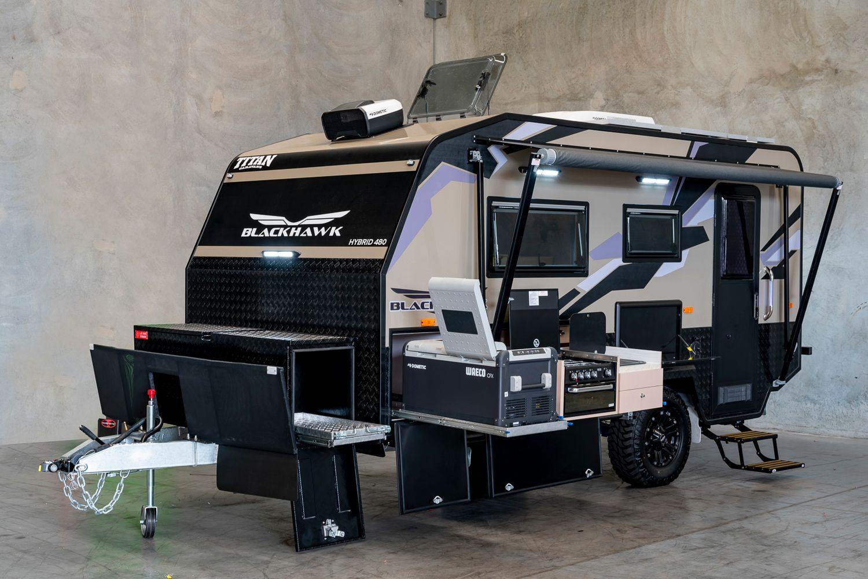Titan 480 Blackhawk Hybrid Caravan